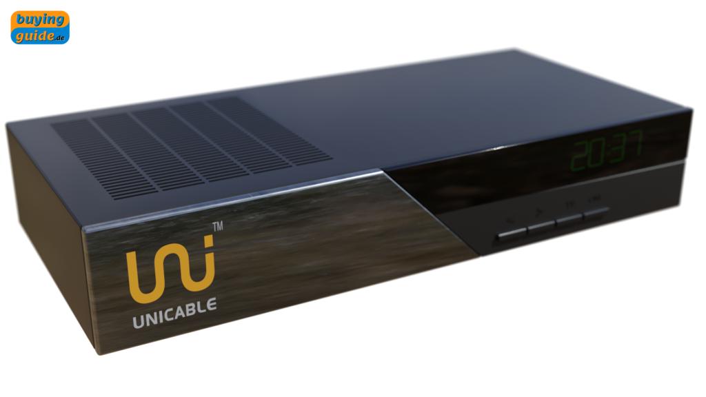 Unicable-fähiger Receiver zur Verwendung in einer Einkabellösung