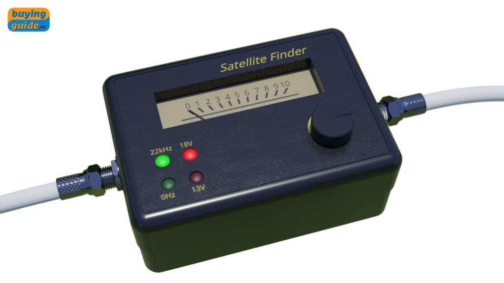 Satellite Finder (Sat-Finder) zum Ausrichten der Satellitenschüssel